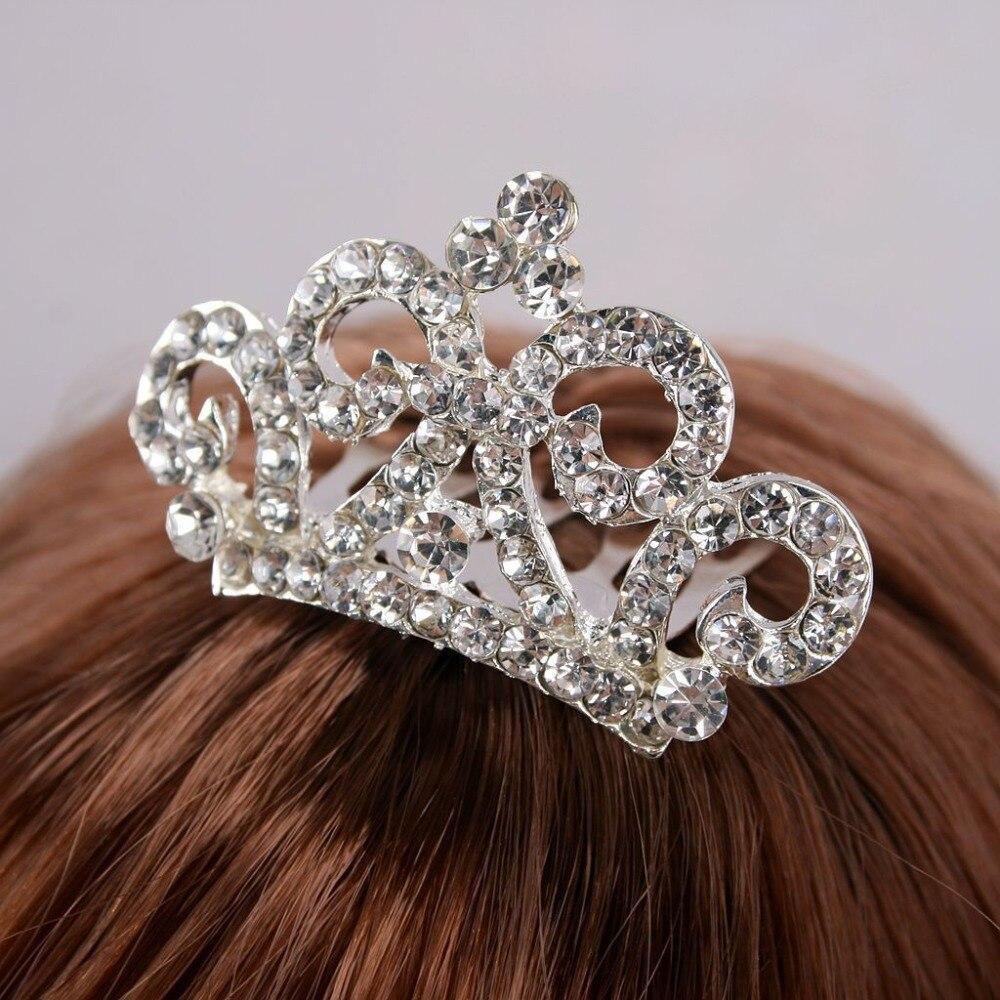 wamami C# Diamond Flower Hair Clips Jewelry Blythe SD DZ DOD MSD BJD Dollfie