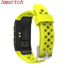 Smartch Водонепроницаемый IP68 S908 спортивные Фитнес Smart Band GPS Фитнес трекер браслет умный Браслет мониторинг сна здоровый TRA