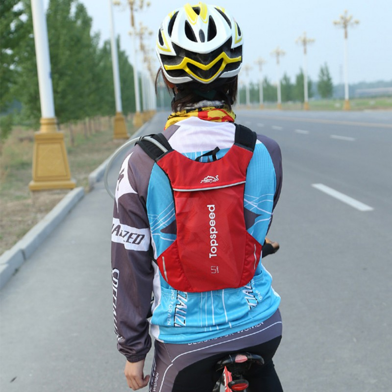 5L/2L Cycling Bag Running Hydration Backpack Riding Jogging Sport Backpack Trail Running Marathon Bag <font><b>3</b></font> Colors image