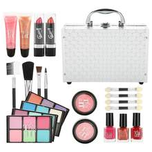 MISS ROSE Professional 22in1 Complete Full Cosmetic Set Makeup Starter Kit Large Box Travel Case Eyeshadow Lip Nail Make up Set(China)