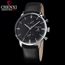 CHENXI Watches Men Luxury Top Brand New Fashion Men's Big Dial Designer Quartz Watch Male Wristwatch relogio masculino relojes