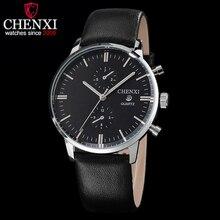 CHENXI Watches Men Luxury Top Brand New Fashion Men's Big Dial Designer Quartz Watch Male Wristwatch relogio masculino relojes