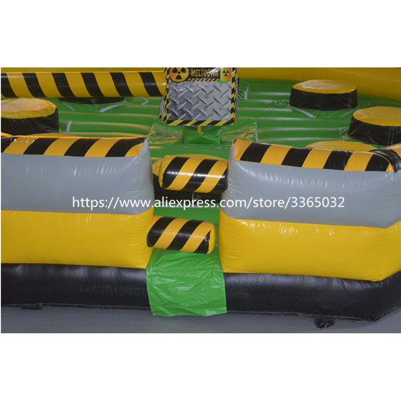 Divertido 8 persona inflable Wipeout / Inflatable Meltdown Venta / - Deportes y aire libre - foto 5