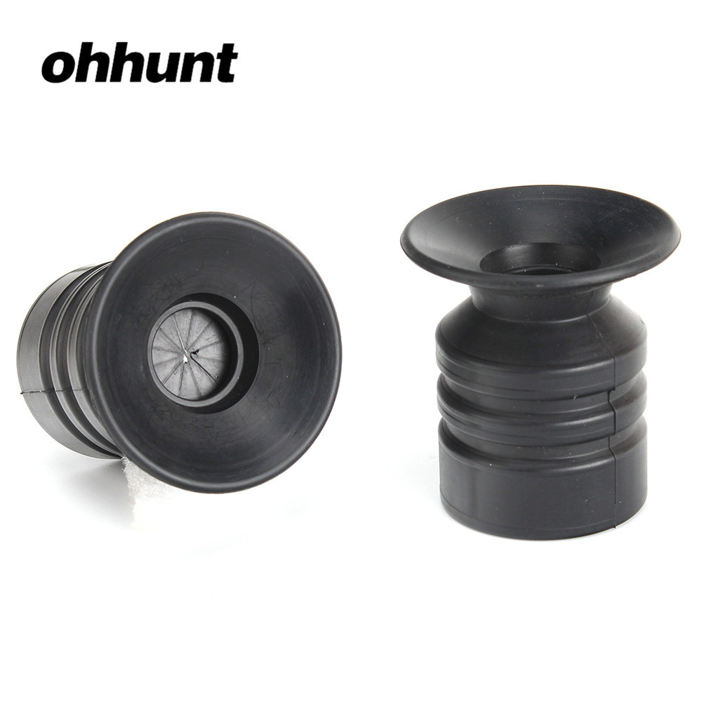 Hunting Ohhunt Rubber Scalability Sight Eyeguard Rifle Scope Night Vision Recoil Eye Protector Eyeshade Optics Gated Eyecup