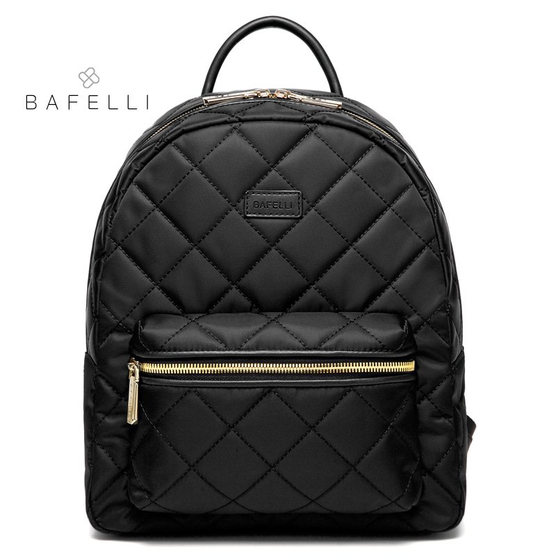 BAFELLI parachute nylon material diamond lattice backpacks high quality for teenage girls waterproof backpacks women travel bag цена 2017
