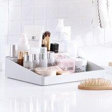 Plastic Cosmetics, Skin Care Products Makeup Brush Lipstick Nail Polish Storage Box Dressing Table Table Top