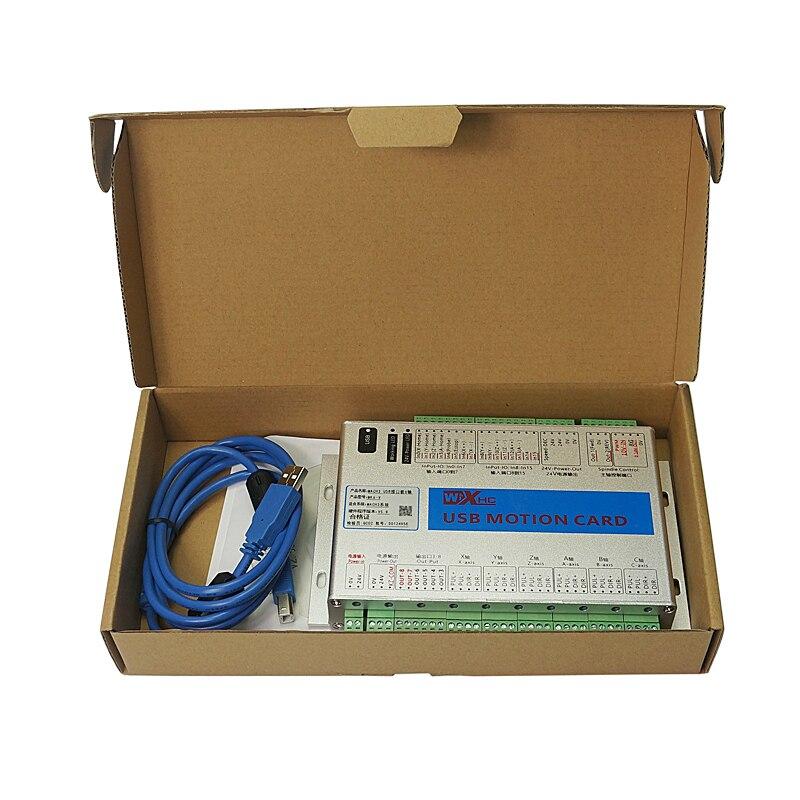 6axis Mach3 карта управления движением USB беспроводное ручное колесо для diy фрезерный станок с ЧПУ - 6