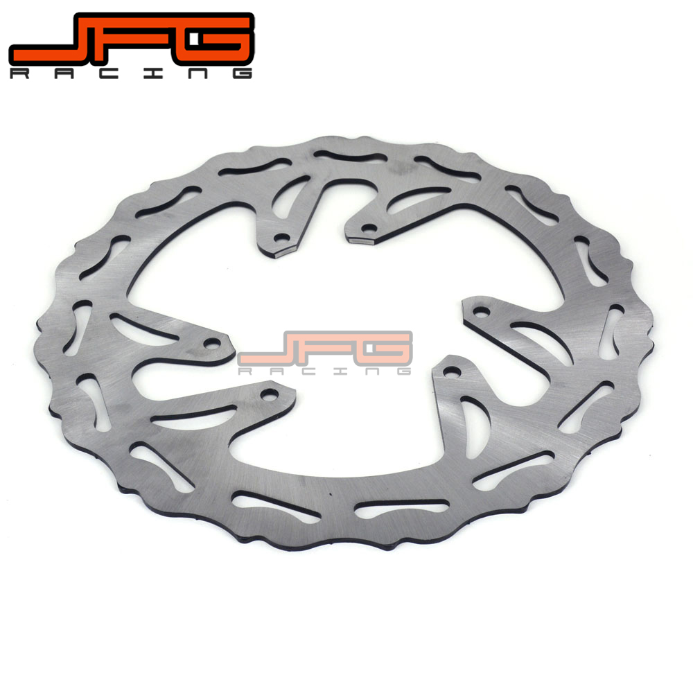 Motorcycle Front Brake Disc Rotor For HONDA CRF250R CRF450R CRF 2015 2016 2017 CRF450RX 2017 17 dirt bike ahl motorcycle brake front pads for honda crf 150 230 250 450 motorbike parts fa185 crf 230 f l m 08 15
