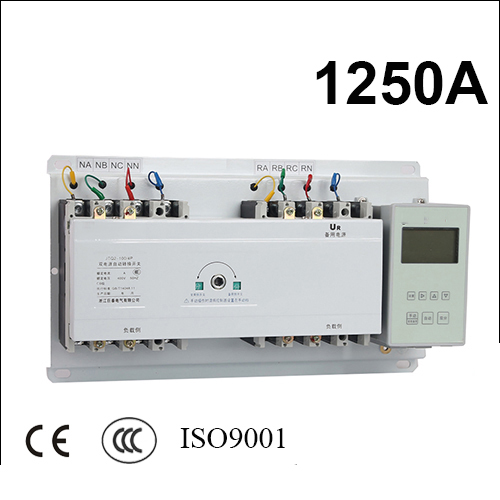 все цены на 3 poles 3 phase ats 1250A automatic transfer switch with English controller