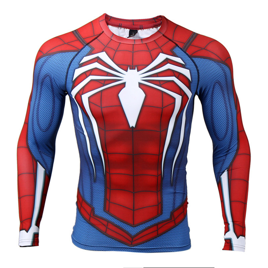spiderman gym clothing men  (4)