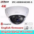 Dahua 4K IPC-HDBW4800E upgraded to IPC-HDBW4830E-S dome IP Camera in-door cam ip poe full hd network ir dome camera