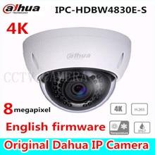 Dahua 4 К ipc-hdbw4800e обновлен к ipc-hdbw4830e-s купольная ip-камера Камера в двери Cam IP POE Full HD Сеть ИК купол Камера