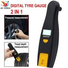 Датчик давления в шинах 0-100 PSI подсветка Высокоточный цифровой контроль давления в шинах автомобильные шины