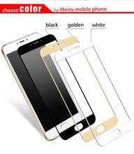 9H 2.5D Full Cowl Colourful Tempered Glass For Meizu M3 Notice For Meizu U10 For Meizu U20 Anti-Explosion Display Protector Movie