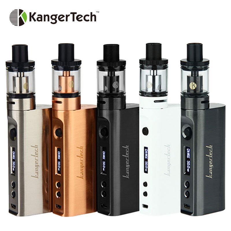 Original Kanger Subox Mini-C Starter Kit 50W with Protank 5 Atomizer & KBOX Mini-C Box Mod Vaporizer Compatible with SSOCC Coil электронная сигарета kangertech subox mini c стальная