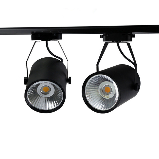 10w 20w 30w led track light aluminum ceiling rail track lighting cob 10w 20w 30w led track light aluminum ceiling rail track lighting cob spot rail spotlights replace aloadofball Image collections