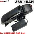 Батарея для электровелосипеда 36В 15ач 800 Вт литиевая батарея 12Ач 16ач 17ач для LG Samsung Panasonic 18650 для мотора 250 Вт 500 Вт