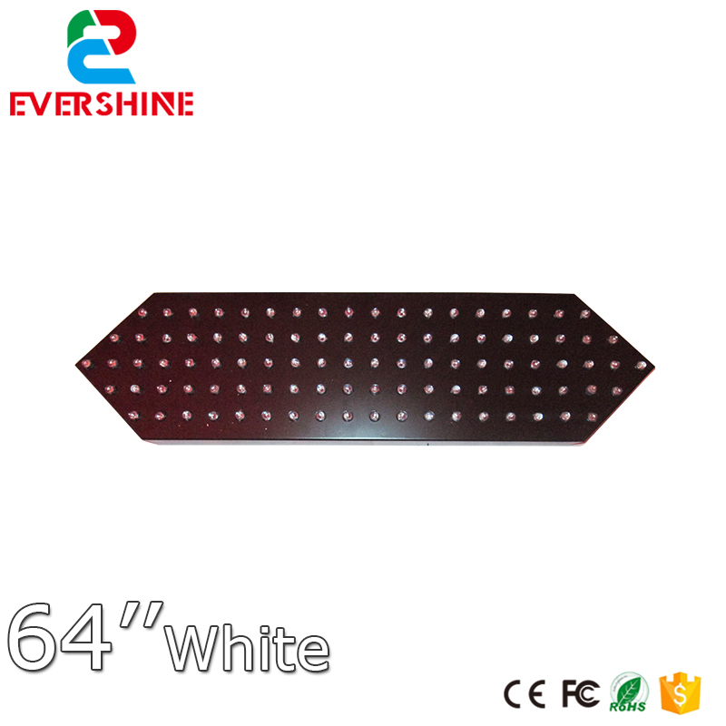 """64"""" Red Color Remote Control 7 Segment Outdoor Waterproof LED Digita Numbers Module LED Temperature and Time Display