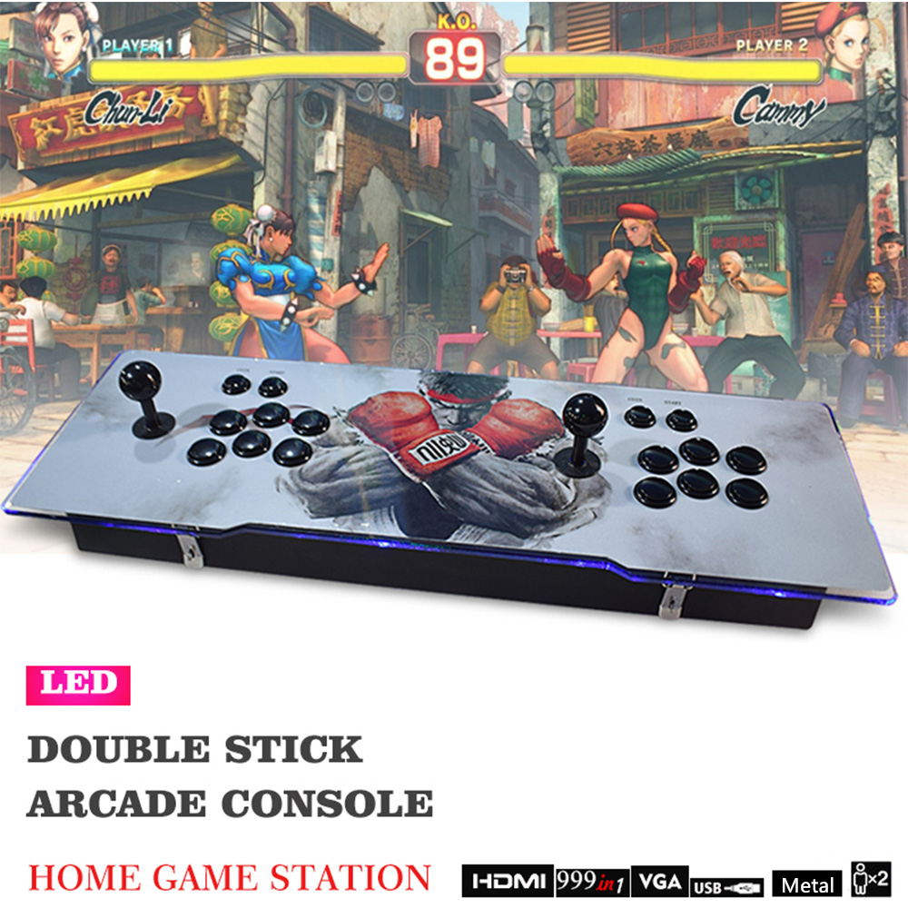 Classic Game Box 1388 in 1 For Customized Order Red Left/Black Right Butons And JoysticksClassic Game Box 1388 in 1 For Customized Order Red Left/Black Right Butons And Joysticks