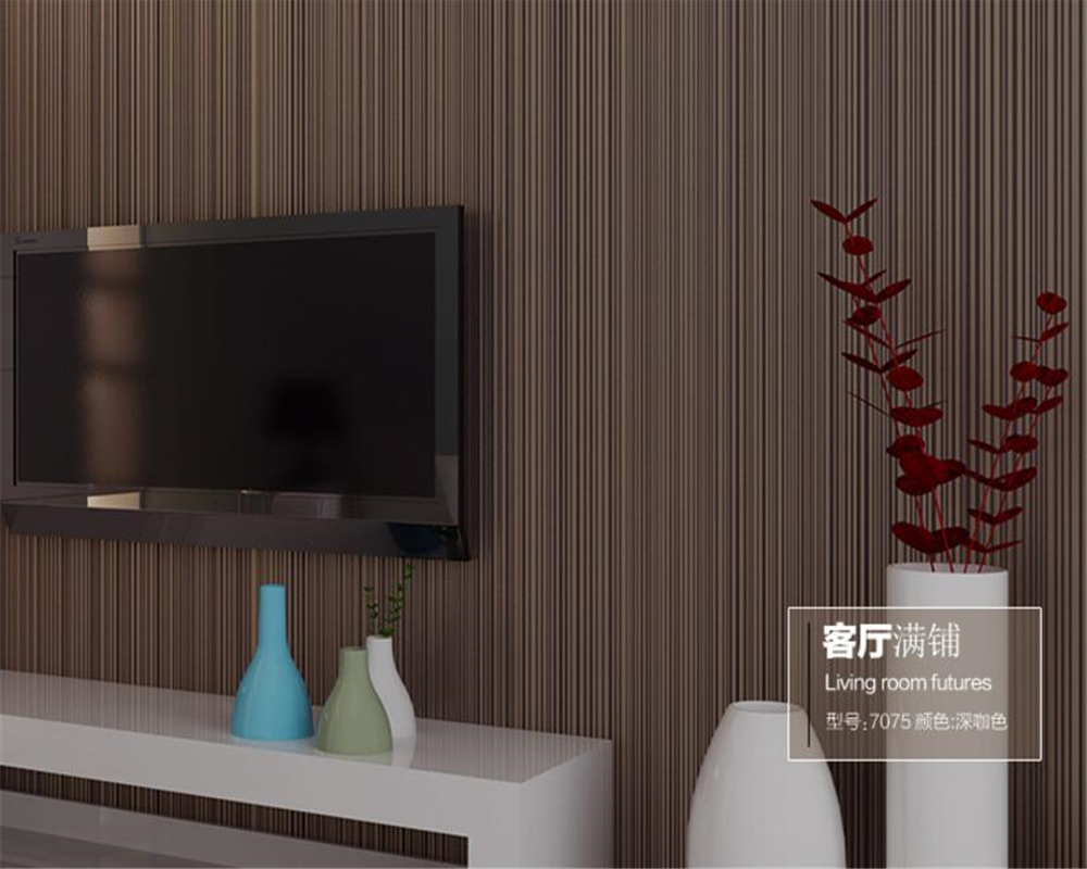 Beibehang Thick plain vertical striped wallpaper bedroom living room wallpaper pure white clothing store hotel hotel wallpaper beibehang wallpaper vertical stripes 3d children s room boy bedroom mediterranean style living room wallpaper