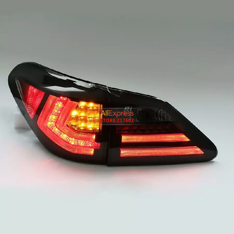 Smoke Black/ for LEXUS RX350 LED Tail light Assembly SONAR BRAND rear lights Fit 2009- cars with Flashing/Moving turn lights smoke black for lexus rx350 led tail light assembly sonar brand rear lights fit 2009 cars with flashing moving turn lights