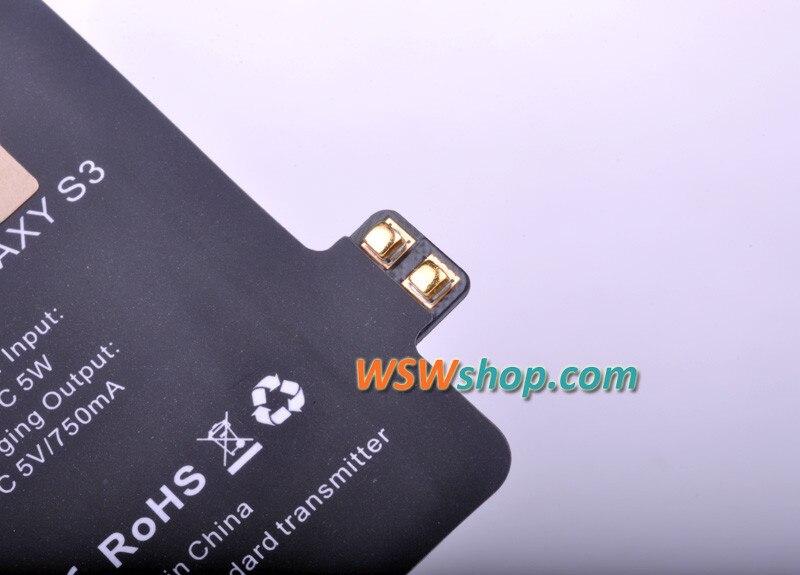 מטען אלחוטי למקלט עבור Samsung Galaxy S3 צ 'י מטען אלחוטי מקלט מתאם גבוה איכות הצ' י הרסיבר עם ייבוא IC