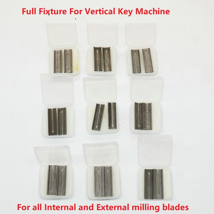 Full Key Blade Clip C Class Leaf Auto Lock Clamp Fixture Jaws For Vertical Key Machine