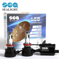 NEW High Power Cree LED Headlight Kit H8 H9 H11 60W 6000K 7600LM Replacement Fog Head