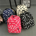 2017 New Women Canvas Backpacks Swallow Birds Printing School Bag For Teenagers Girls Shoulder Bag Sac A Dos Mochila Feminina