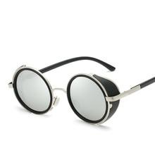 UV400 Round Metal Sunglasses motorcycle car Driving glasses Fashion Glasses Retro Vintage Sunglasses 2016 retro round sunglasses women brand designer outdoor travel driving vintage sunglasses for women ladies 5 colors hot sale