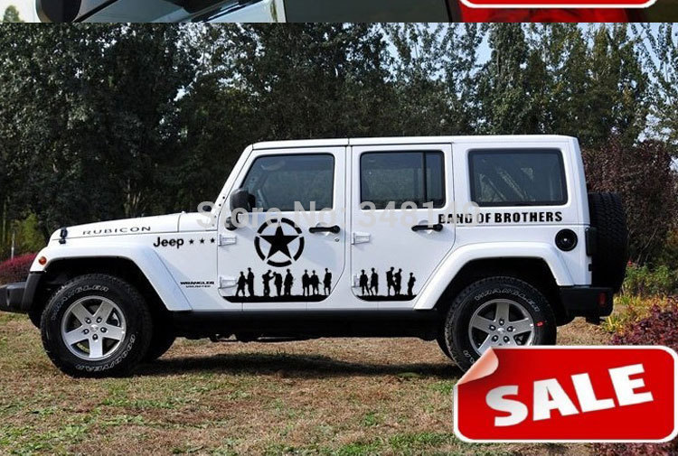 Popular Jeep Stickers DecalsBuy Cheap Jeep Stickers Decals Lots - Custom windo decals for jeeps