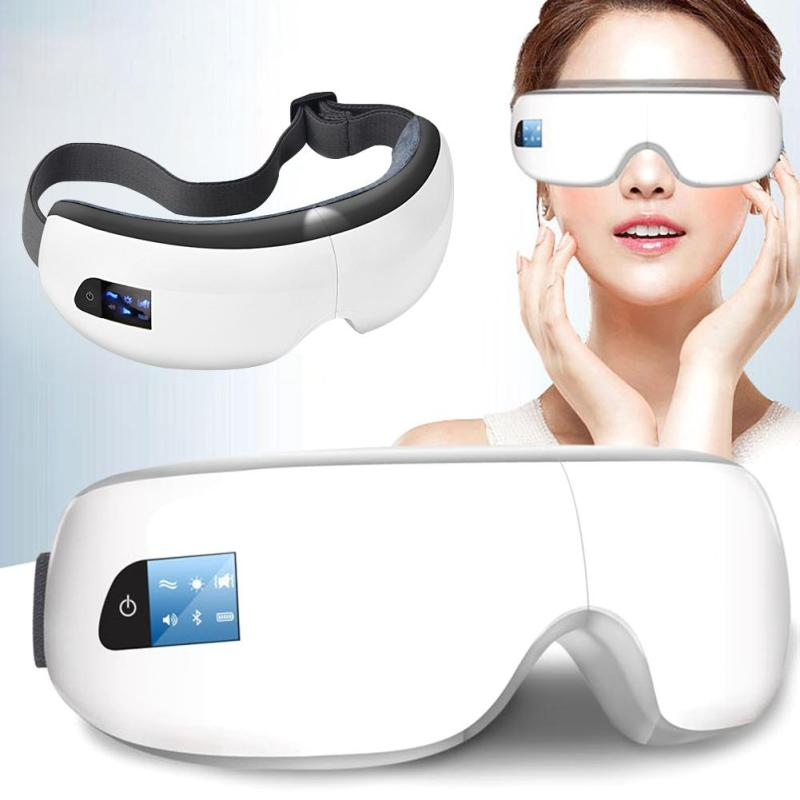 Wireless Digital eye Massager Vision Improve reliease Compression Eye massag Remove Wrinkles Dark Circles Puffiness Q3 цена