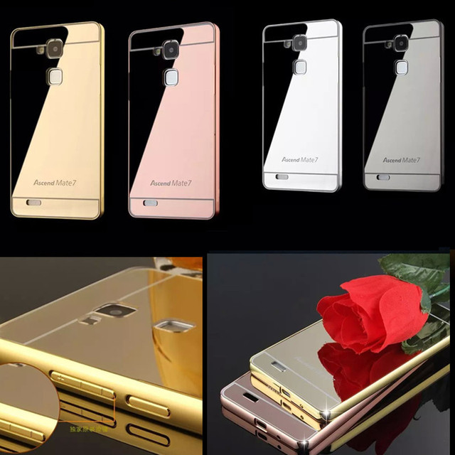 custodia huawei mate 7 gold