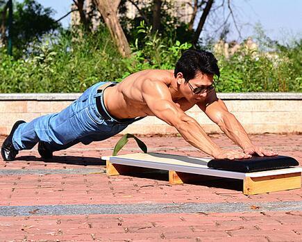 Multifonctions abdominale formateur musculaire coulissant push - Up carte musculation Sit Up banc équipement de formation de remise en forme livraison gratuite