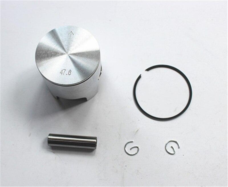 47.6mm Piston Kits With Pin For Yamahjog 50 Jog50 Motorcyle Cylinder Jog Dia=47.6mm, Min ...