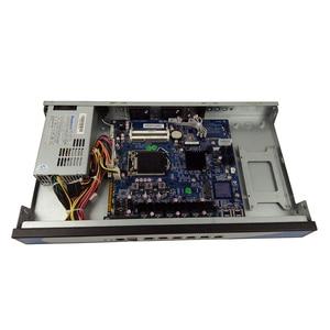 Image 5 - Yanling customize 6 Lan Mini Linux 1U Rackmount Server i3 4160 Cloud Computer Pfsense PC With VGA CF Card Slot For Windows 10