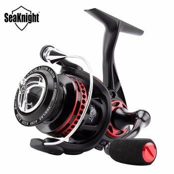 SeaKnight AXE Saltwater cuerpo totalmente de Metal carrete giratorio 6,2 1 11BB 2000H 3000H carrete de pesca Anti-corrosión mar carpa pesca rueda