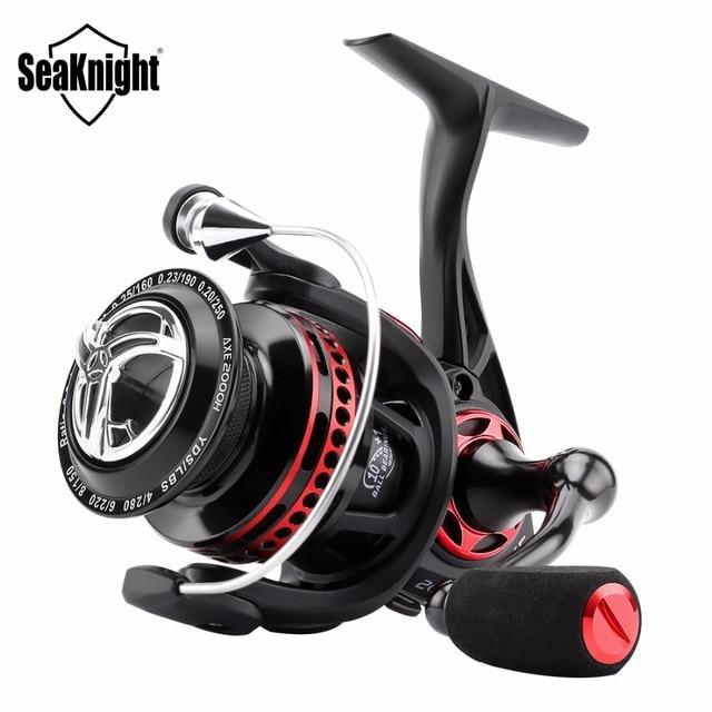 SeaKnight AXE moulinet de pêche en eau salée 6.2: 1 11BB 2000 H 3000 H 4000 H corps en métal complet Anti-Corrosion roue de pêche à la carpe de mer