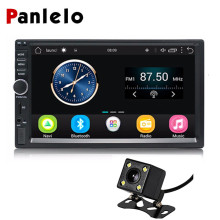 2 Din Car Radio Quad Core Android Built-in GPS/Bluetooth/Wifi/AM/FM Car Navigation 7 Inch Car Audio Stereo Rear View Camera funrover 7 in dash car stereo 2 din navigation gps car dvd player head unit audio car for vw jetta bluetooth built in free can