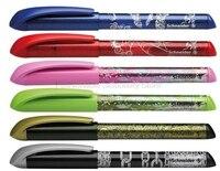 شنايدر سهل 0.5 ملليمتر الزهور تصميم الراتنج الرسم الجسم الإمدادات الأقلام الايريديوم قلم حبر الكتابة للأطفال الطلاب