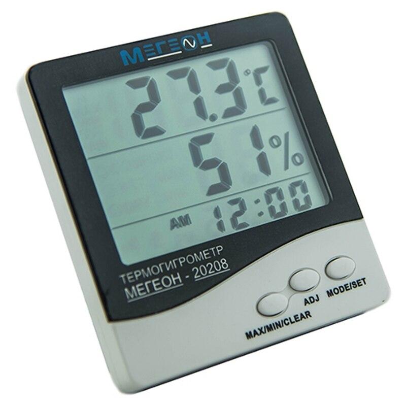 Moisture Meter МЕГЕОН 20208 (Measurement humidity from 10 to 99%, alarm function) garden soil moisture humidity and ph acidity meter