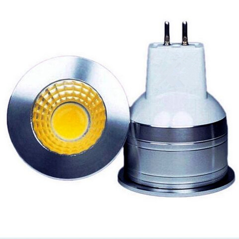 led spotlight bulb mini 3w cob dimmable 12v spot light led mr11 dc