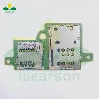 S6000H Sim SD Card Slot Pcb Board For Lenovo Pad S6000 Sim SD Board Free Shipping