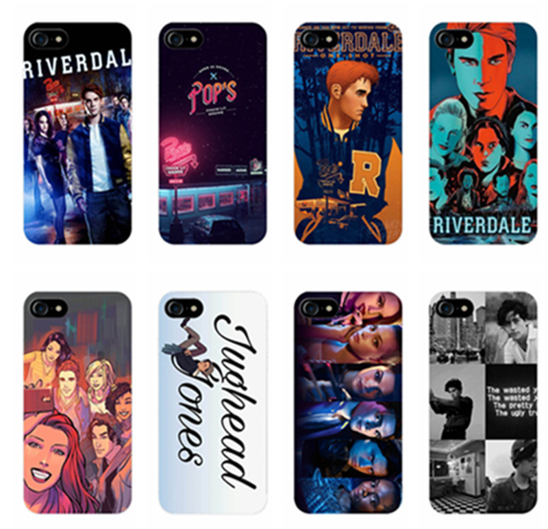 Hot TV Riverdale TPU Silicone Cover Case for Apple iPhone