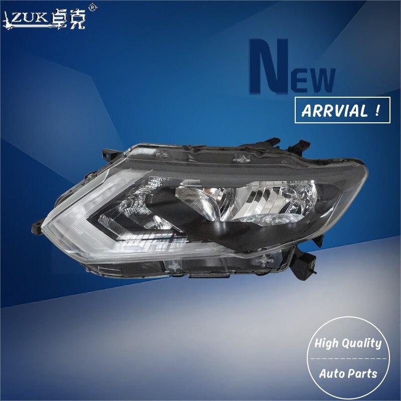 Zuk Front Halogen Headlight Headlamp Head Light Lamp For Nissan X Trail Rogue T32 2017 2018 2019 Daytime Running Led