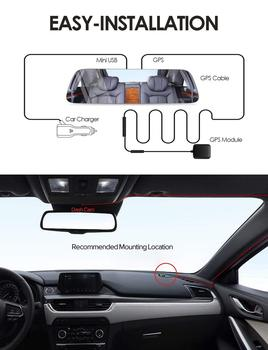 AZDOME GPS Module GS-01 for Mirror Dash Cam PG-01 / PG-02 Car DVR Camera Dashcam