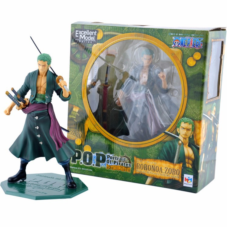 Action-Figure Model-Toy Doll-Collection One-Piece Anime PVC No 2-Years 24cm Zoro Roronoa