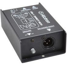цена на Alctron DB-1 DI Direct Box New Arrive, Passive Stereo DI Direct Box - 1 Channel Professional DI Boxes