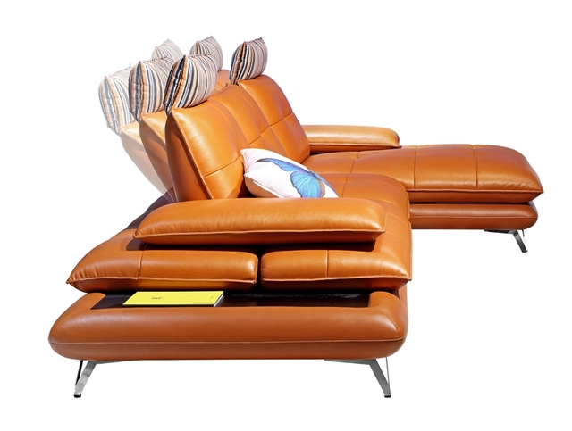 Deluxe Leather Recliner Sofa 1