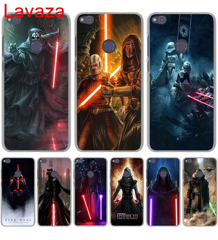 Lavaza Star Wars new lightsaber Hard Transparent Case Cover for Honor 8 Lite